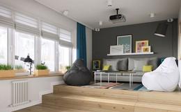 Mê mẩn với thiết kế căn hộ chỉ 34m² nhưng rất đa năng và hiện đại đến từng chi tiết