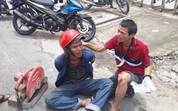 """""""Hiệp sĩ"""" Sài Gòn bị đâm trọng thương đã trở lại bắt cướp"""