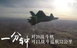 Trung Quốc tung bằng chứng J-20 đã vượt xa Su-57
