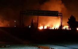Phòng không Syria dồn dập đánh chặn tên lửa, máy bay kẻ thù: Israel tấn công?