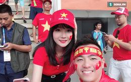 Nữ CĐV Việt được các đài truyền hình Hàn Quốc săn đón, danh tính khiến nhiều người bất ngờ
