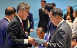 """""""Nhất cử nhất động"""" của các nhà ngoại giao Mỹ - Triều Tiên ở Singapore"""