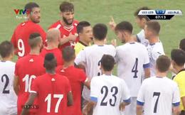 Sai lầm, ẩu đả... đủ hỷ-nộ-ái-ố khi U23 Uzbekistan quyết chiến U23 Palestine