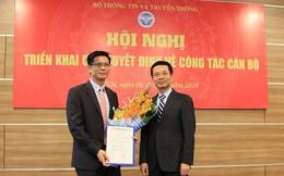 Ông Lê Văn Tuấn được giao phụ trách Cục Tần số vô tuyến điện