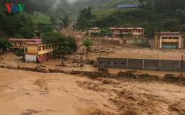 Mưa lũ ở Yên Bái khiến 11 nhà dân bị sập đổ, hư hỏng