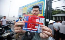 Xuất hiện vé giả xem U23 Việt Nam