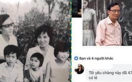 """Khi bà ngoại tỏ tình với ông ngoại trên Facebook: """"Tôi yêu chàng trai này đã 47 năm có lẻ!"""""""