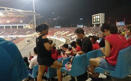 Hình ảnh đặc biệt trên khán đài trận U23 Việt Nam - U23 Uzbekistan vừa kết thúc