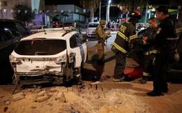 Dân thường Israel tháo chạy trước mưa tên lửa từ Gaza