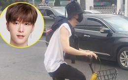 """Em trai Phạm Băng Băng """"bình thản đạp xe đạp"""" giữa tâm bão scandal bị bắt giữ của chị"""