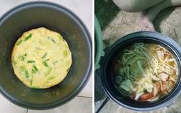 Đời sinh viên ở trọ, ai mà chẳng có một chiếc nồi cơm điện nấu đủ món từ cơm đến canh, thịt, lẩu