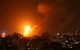 Hứng 150 hoả tiễn, Israel tấn công đáp trả 140 mục tiêu ở dải Gaza