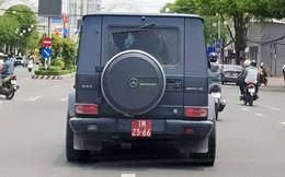 """""""Siêu xe"""" Mercedes gắn biển giả quân đội: Công an liên lạc nhưng tài xế không quay về để làm việc"""