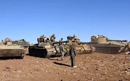 """""""Quả đấm thép"""" Syria tấn công đánh chiếm chốt tiền tiêu của IS"""