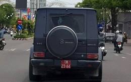 Xác định danh tính tài xế lái xe 'khủng' tiền tỷ gắn biển đỏ giả