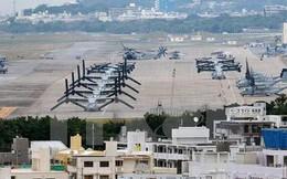 Okinawa thu hồi giấy phép bồi đất cho căn cứ Mỹ tại Nhật