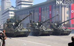 """Vũ khí """"lạ"""" lần đầu xuất hiện trong lễ duyệt binh của Quân đội Triều Tiên"""