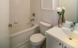 Vẫn diện tích đó nhưng chỉ cần làm theo 8 lời khuyên dưới đây, phòng tắm nhà bạn sẽ rộng hơn tức thì