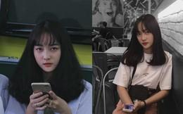 Bị chụp lén khi đang ngồi trong lớp, nhan sắc của nữ sinh 2002 khiến số đông khó rời mắt