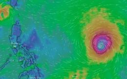 Bão số 5 Barijat đổi hướng, tăng tốc hướng vào đất liền, siêu bão Mangkhut vẫn giật cấp 17