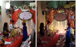 Chú rể 26 tuổi tổ chức lễ đính hôn lãng mạn như mơ trong ngày sinh nhật của cô dâu 61 tuổi