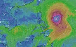 Chuyên gia khí tượng chỉ các điểm nguy hiểm mà siêu bão Mangkhut có thể gây ra