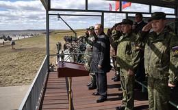 Ảnh: Tổng thống Putin xuất hiện tại cuộc tập trận lớn nhất của Nga