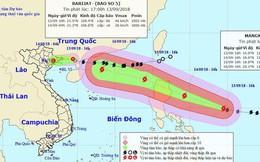 Siêu bão Mangkhut mạnh 'khủng khiếp' như thế nào?