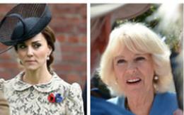 """Công nương Kate """"đáp trả"""" mẹ chồng Camilla bằng việc """"cấm cửa"""" bà đến gần Hoàng tử Louis mới sinh, hạn chế thăm các cháu, khiến bà giận tím mặt"""