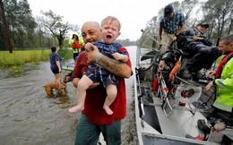 Ảnh: Bờ Đông nước Mỹ tan hoang, nước không ngừng dâng cao do bão Florence
