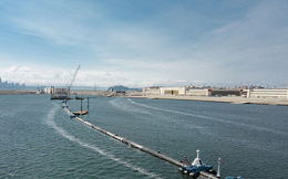 Triển khai hệ thống khổng lồ có tên 001 để làm sạch đại dương