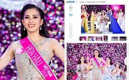 Báo Trung Quốc khen ngợi Trần Tiểu Vy, cư dân mạng nhận định lọt Top 5 Miss World