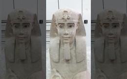 Tìm thấy tượng nhân sư tuyệt đẹp 2000 năm tuổi ẩn trong ngôi đền cổ ở Ai Cập