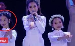 Lên hình vài giây tại Hoa hậu Việt Nam 2018, bé gái được dân mạng dự đoán '10 năm sau cũng sẽ là hoa hậu'