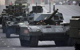 Trang bị tên lửa chống tăng 152mm, tăng T-14 mạnh gấp bội