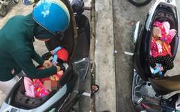 Đặt con nhỏ nằm trong cốp xe: Bức ảnh thị phi nhất ngày và câu chuyện phía sau không có lời giải