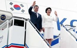 Đã có 1 đồ vật quan trọng trên chuyên cơ được dỡ bỏ khi Tổng thống Moon Jae-in thăm Triều Tiên