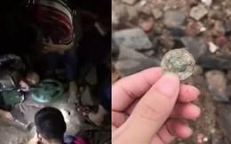 """Người dân Trung Quốc đổ xô đi đào """"kho báu"""" sau siêu bão Mangkhut"""