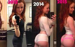 Cô gái 23 tuổi từng rất tự ti với thân hình gầy gò, thiếu sức sống chia sẻ bí quyết sở hữu được vóc dáng nóng bỏng