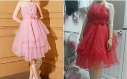 """Lại chuyện mua hàng online: Chi 250k mua váy công chúa rõ xinh, cô nàng nhận về """"chiếc màn tuyn"""" không hơn không kém"""
