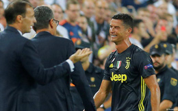 Ronaldo ôm mặt khóc sau tấm thẻ đỏ nghiệt ngã tại Champions League