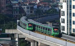 13 đoàn tàu đường sắt Cát Linh - Hà Đông chạy thử trong sáng nay