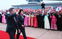 Lãnh đạo Hàn – Triều lên chuyên cơ riêng đi du ngoạn núi thiêng Paekdu