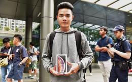 """Người Việt đầu tiên mua được iPhone XS trên đất Singapore: """"Tôi phải ra sân bay và về ngay Việt Nam"""""""