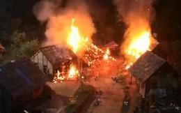 """Công bố clip hỏa hoạn phim trường khiến mỹ nhân """"Anh Hùng Xạ Điêu"""" bỏng nặng"""