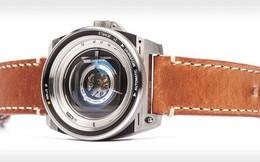 Cùng chiêm ngưỡng chiếc đồng hồ độc đáo lấy ý tưởng từ ống kính máy ảnh