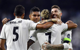 """Được VAR """"giải cứu"""", Real Madrid tạm qua mặt kình địch Barcelona"""