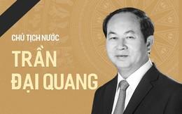 Các đoàn viếng Chủ tịch nước Trần Đại Quang chỉ mang băng tang, không mang vòng hoa