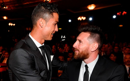 Ronaldo và Messi bầu cho ai ở giải thưởng kết thúc 10 năm thống trị của họ?