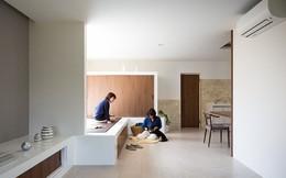 Ngôi nhà tối giản nhưng đầy sức hút của 2 người phụ nữ và 1 chú chó nhỏ ở Nhật